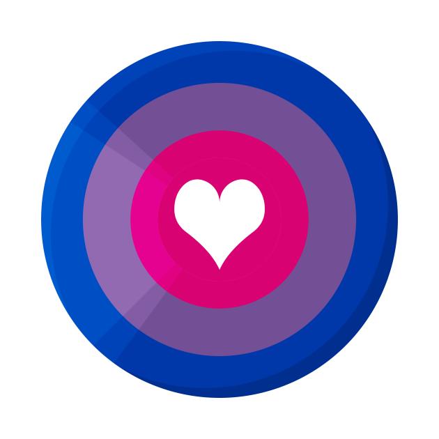 Pride Shield - Bi Flag