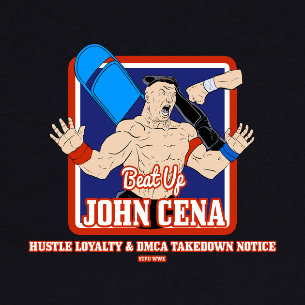 Beat Up John Cena DMCA Takedown Notice