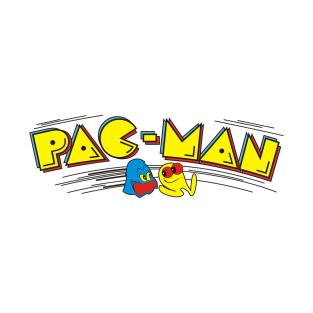 Pac Man Marquee Logo t-shirts