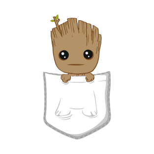 Pocket Groot t-shirts