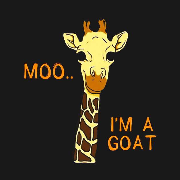 685de63f ... CUTE MOO I'M A GOAT T-SHIRT Funny Farm Animal or Zoo Gift