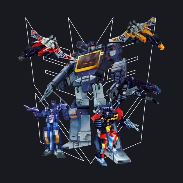 Masterpiece Soundwave and Cassettes