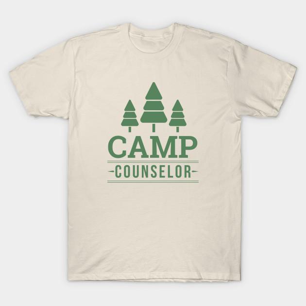 19e4deb9b74d Camp Counselor (green) - Camping - T-Shirt