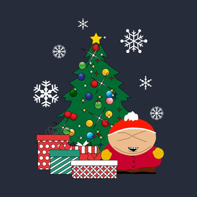 South Park Christmas.Cartman Around The Christmas Tree South Park