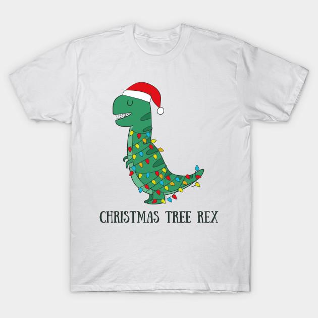 17392428 Christmas Tree Rex- Funny Dinosaur T Rex Christma Gifts - Christmas ...