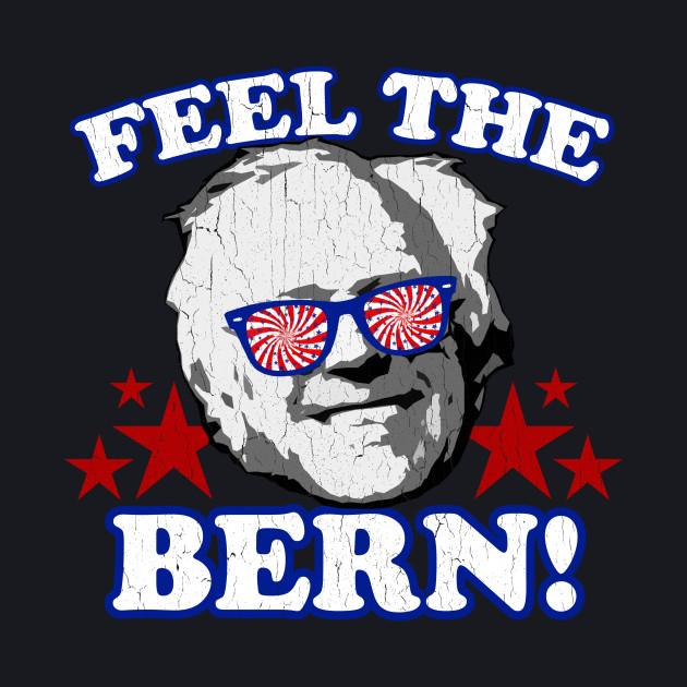 Feel the BERN! (vintage distressed look)