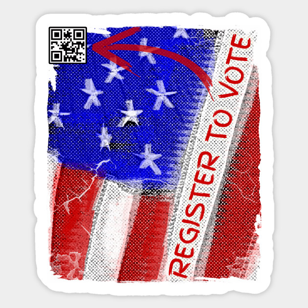 Register To Vote QR Code 2018 Midterm Elections