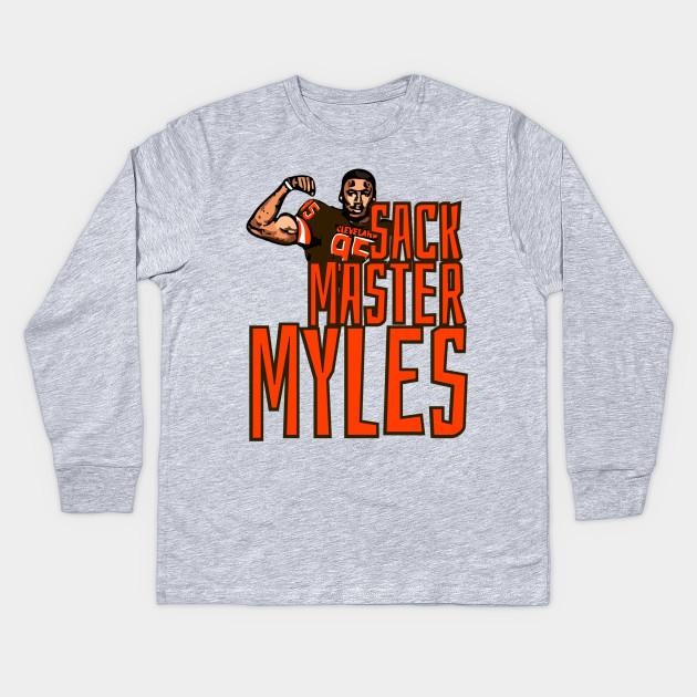 size 40 7c1a7 d2467 Sack Master Myles Garrett - Cleveland Browns