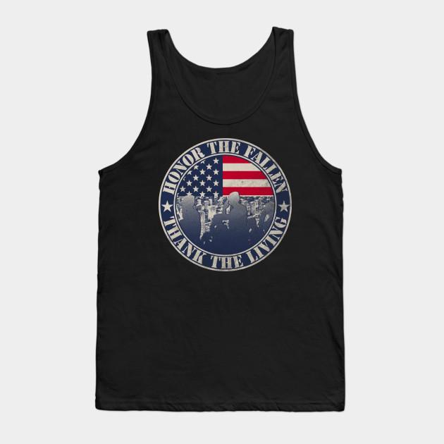 Memorial Day T-shirt Honor the fallen thank the living Shirt ... 7866769fb
