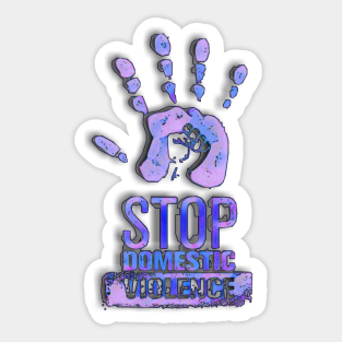 500 Stickers 500 No More Domestic Violence Awareness Stickers DST-NM