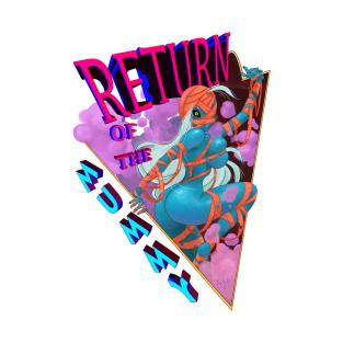 Return of the Mummy (Monster girl series) t-shirts