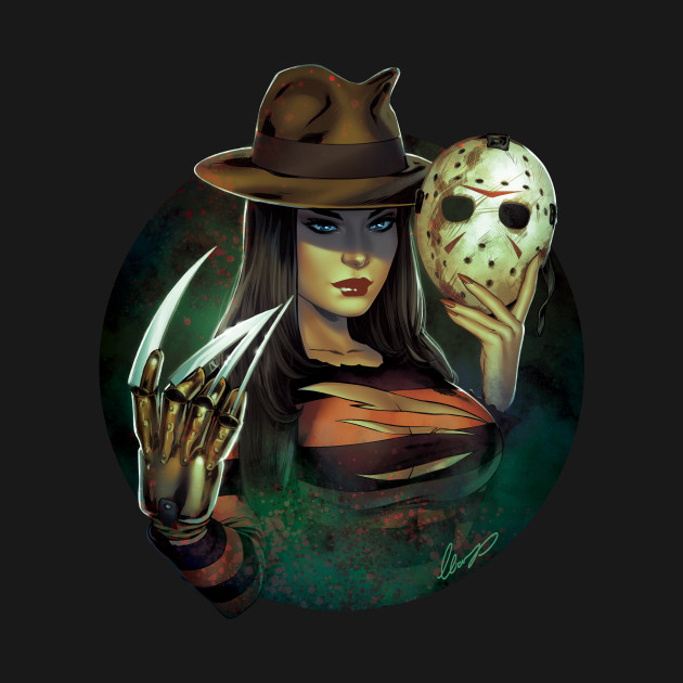 Female Freddy Krueger VS Jason