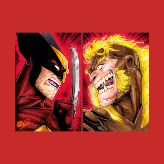 6592c89cdc9 Wolverine VS Sabretooth