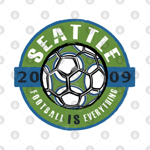 Football Is Everything - Seattle Vintage