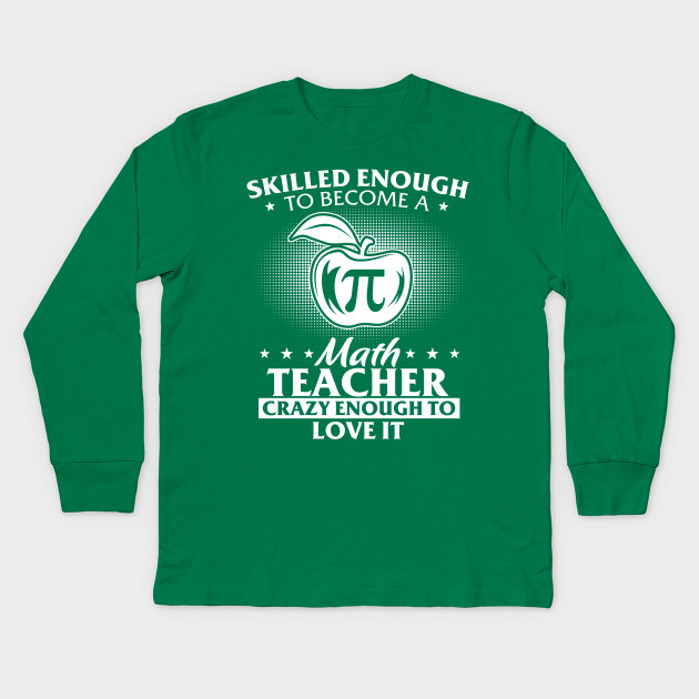 bee1d2fe Funny Birthday Gift For Math Lover. Cool Shirt For Pi Day. Kids Long Sleeve  T-Shirt