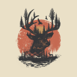 Into the Deer t-shirts