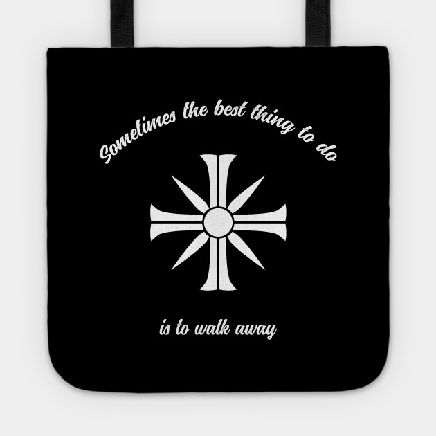 Walk Away Farcry Tote Teepublic