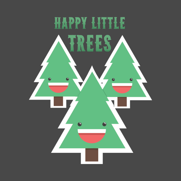 happy little trees - 630×630