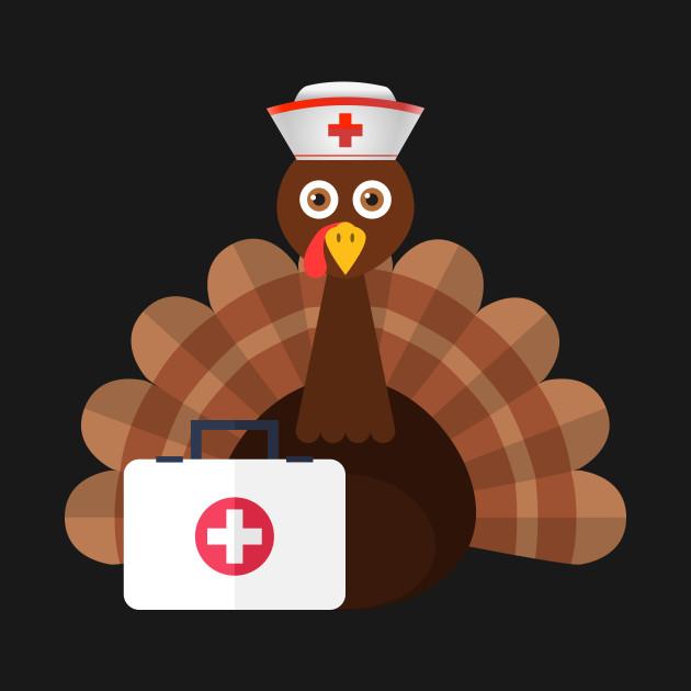 161a6b21cf Nurse Turkey TShirt Thanksgiving Shirt For Nurses - Nurse Turkey ...