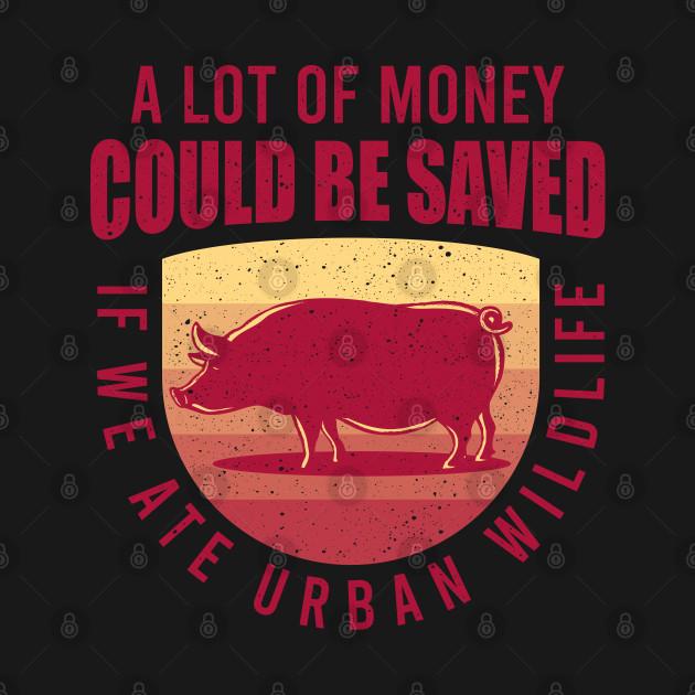 Eat Urban Wildlife Gift For Animal Lovers
