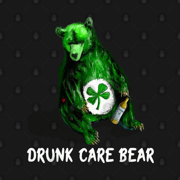 Drunk care bear