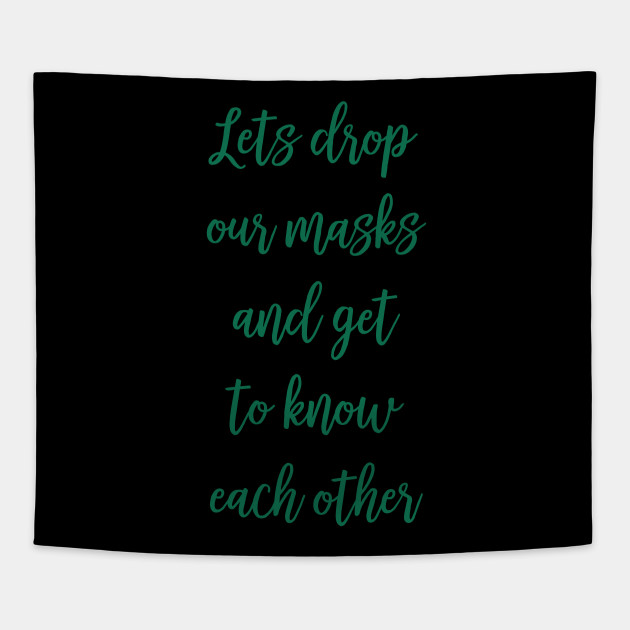 Deep Quotes Inspiration Motivation Mask Deep Quote Tapestry
