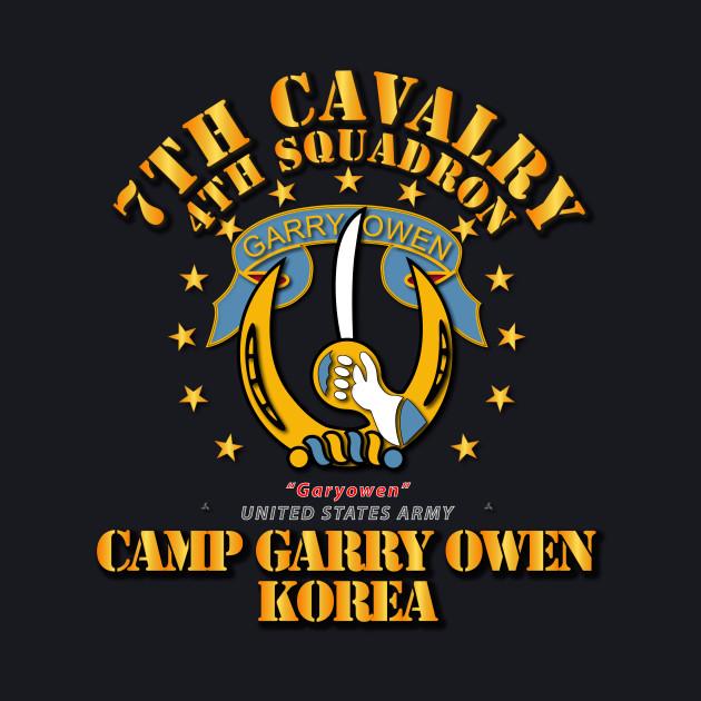4th Squadron 7th Cavalry - Camp Gary Owen Korea