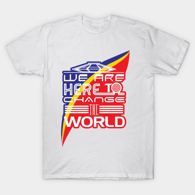 f0de0099369 Captain EO - Change the World - Disney - T-Shirt
