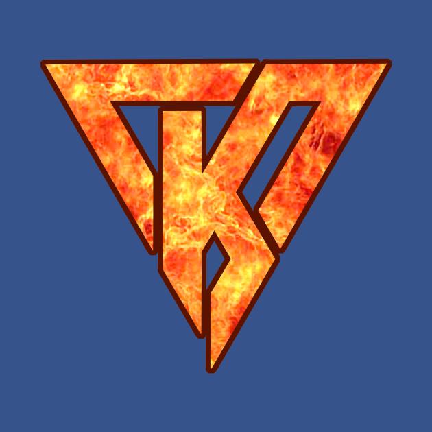 K Flames Maroon