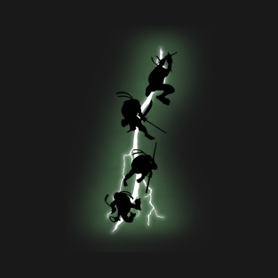 The Dark Mutants Returns t-shirts