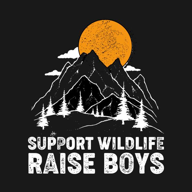 Support Wildlife Raise Boys