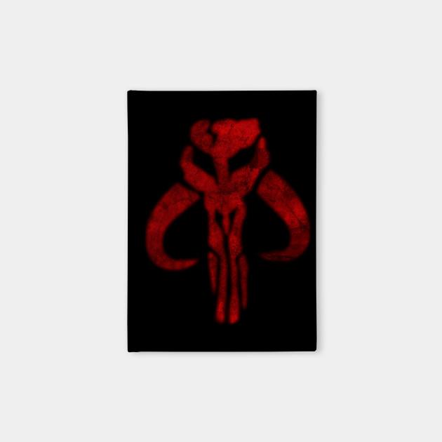 Mandalorian Symbol Boba Fett Notebook Teepublic