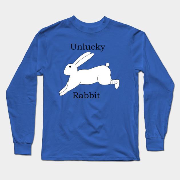 37062b62 Unlucky Rabbit - Rabbits Foot - Long Sleeve T-Shirt | TeePublic