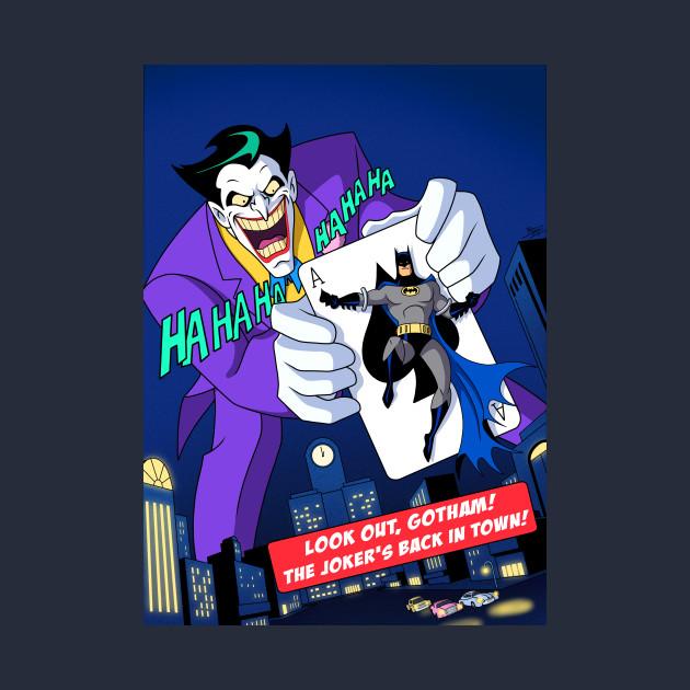 Joker Cover Animated Series