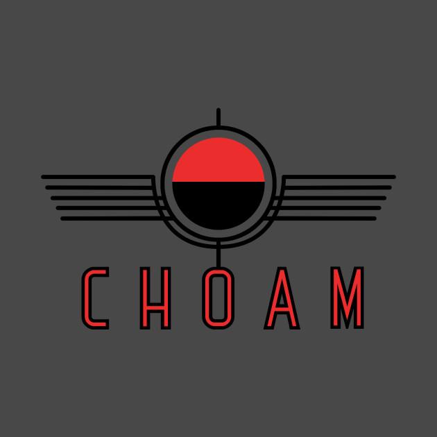 Choam Logo Red T-Shirt