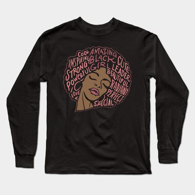 cb3df0fd Black Girl Magic T Shirt| Black Pride Tshirt| Black Girl Power Shirt| Black  Girl Rock Shirt Long Sleeve T-Shirt