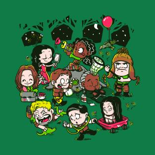 Let's Catch Fireflies t-shirts