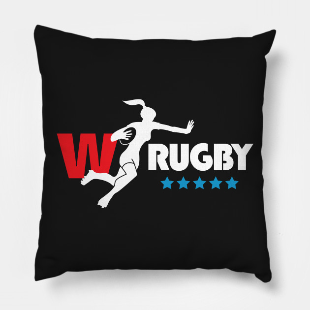 Womens Rugby - white text