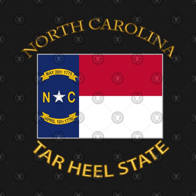 Flag - North Carolina - Tar Heel State