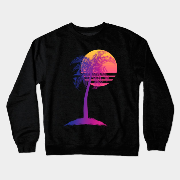 43ee46e56 Sunset Dreams - 80s - Crewneck Sweatshirt | TeePublic