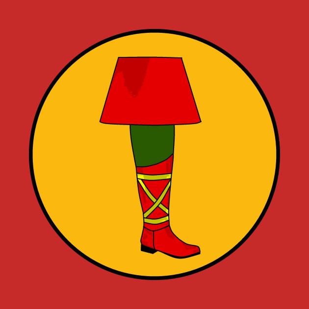 Green Leg Lamp Parody