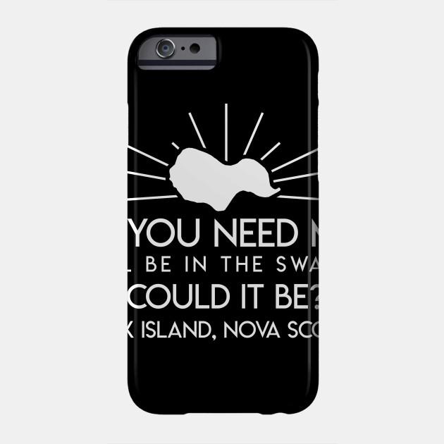 Ill Be In Swamp Oak Island Nova Scotia