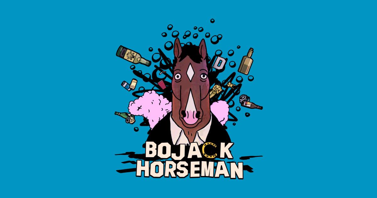 Bojack Horseman Bojack Horseman Crewneck Sweatshirt