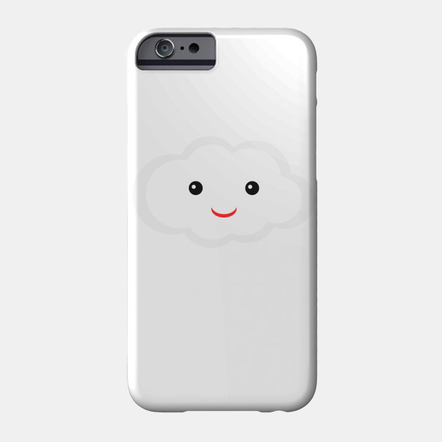 Cute Clouds With Smiley Face Clouds Phone Case Teepublic