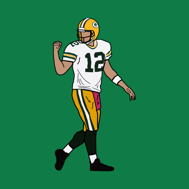 4fb8d80a Aaron Rodgers Touchdown Celebration - Green Bay Packers