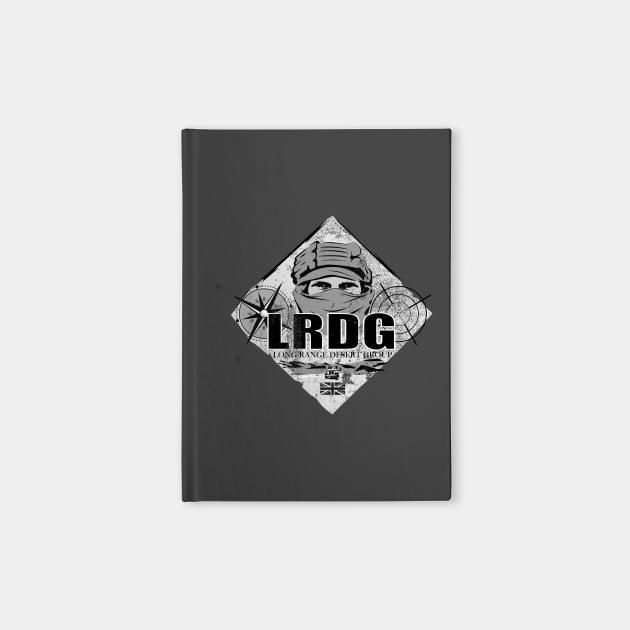 LRDG Long Range Desert Group (distressed)