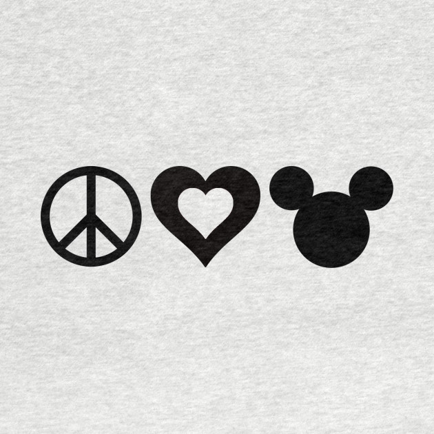 Peace Love Disney