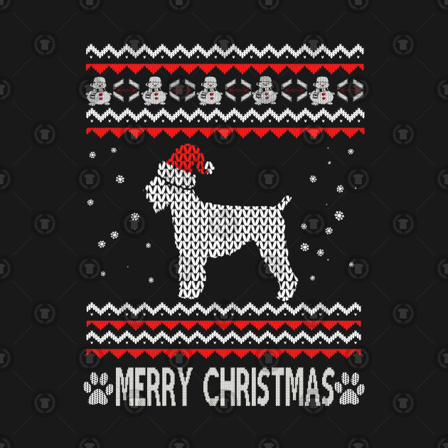 Merry Christmas In Russian.Ugly Christmas Black Russian Terrier