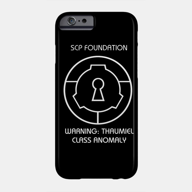 Scp Thaumiel Class Anomaly Warning Scary Spooky Scp Phone Case Teepublic It has been about 10,000 years. scp thaumiel class anomaly warning scary spooky