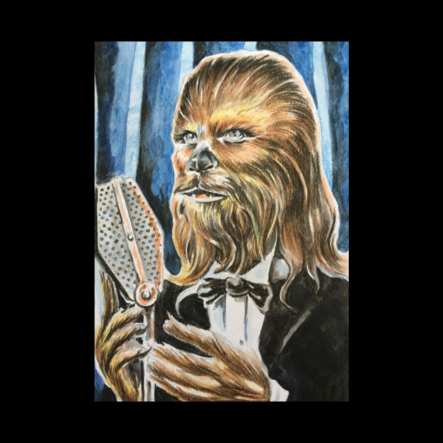 That Adult art wookiee something